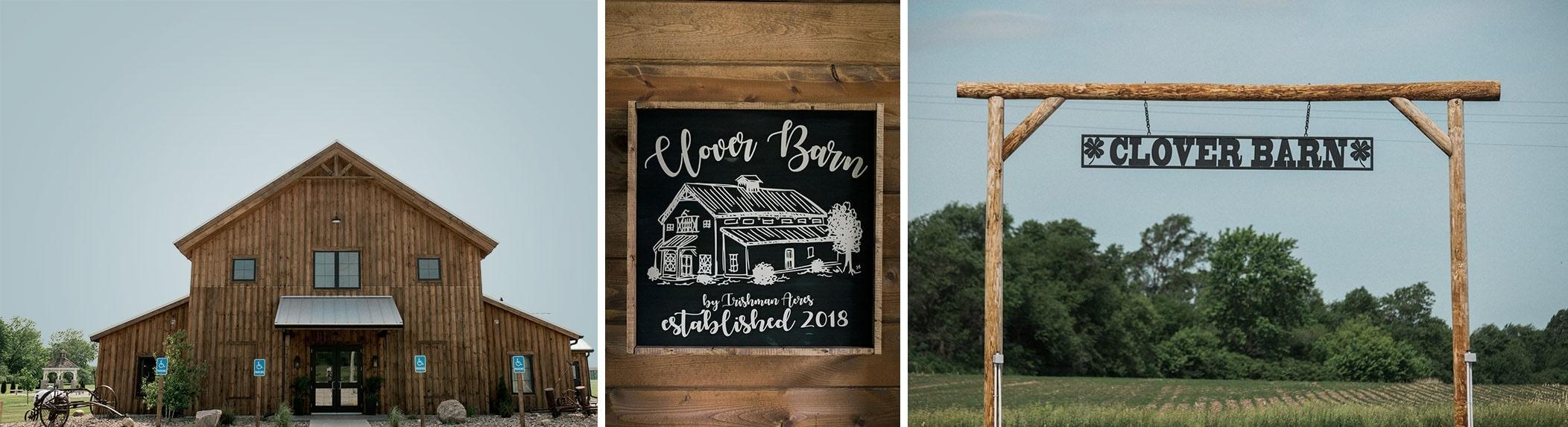Clover Barn Wedding Bondurant Iowa