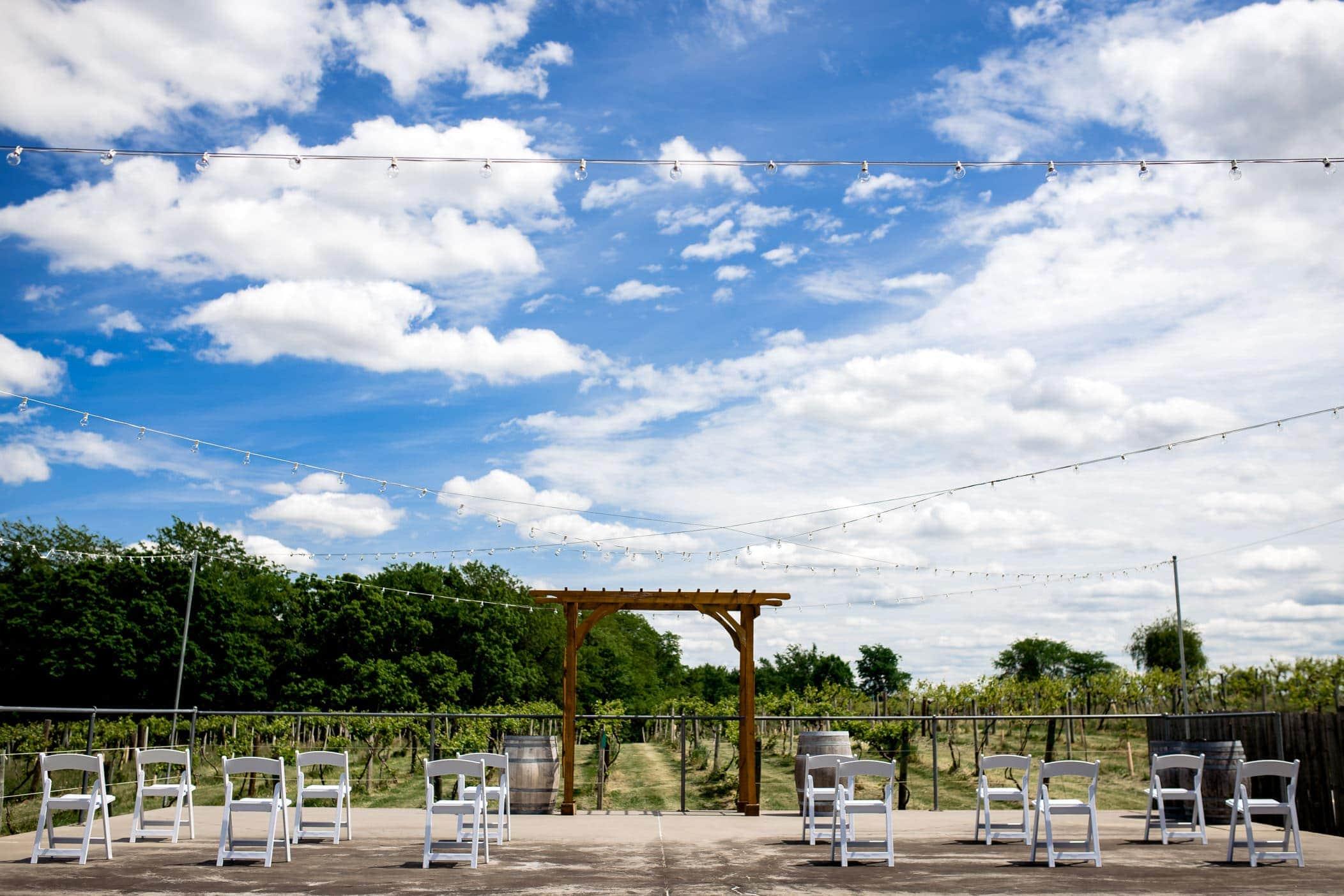 summerset winery wedding indianola