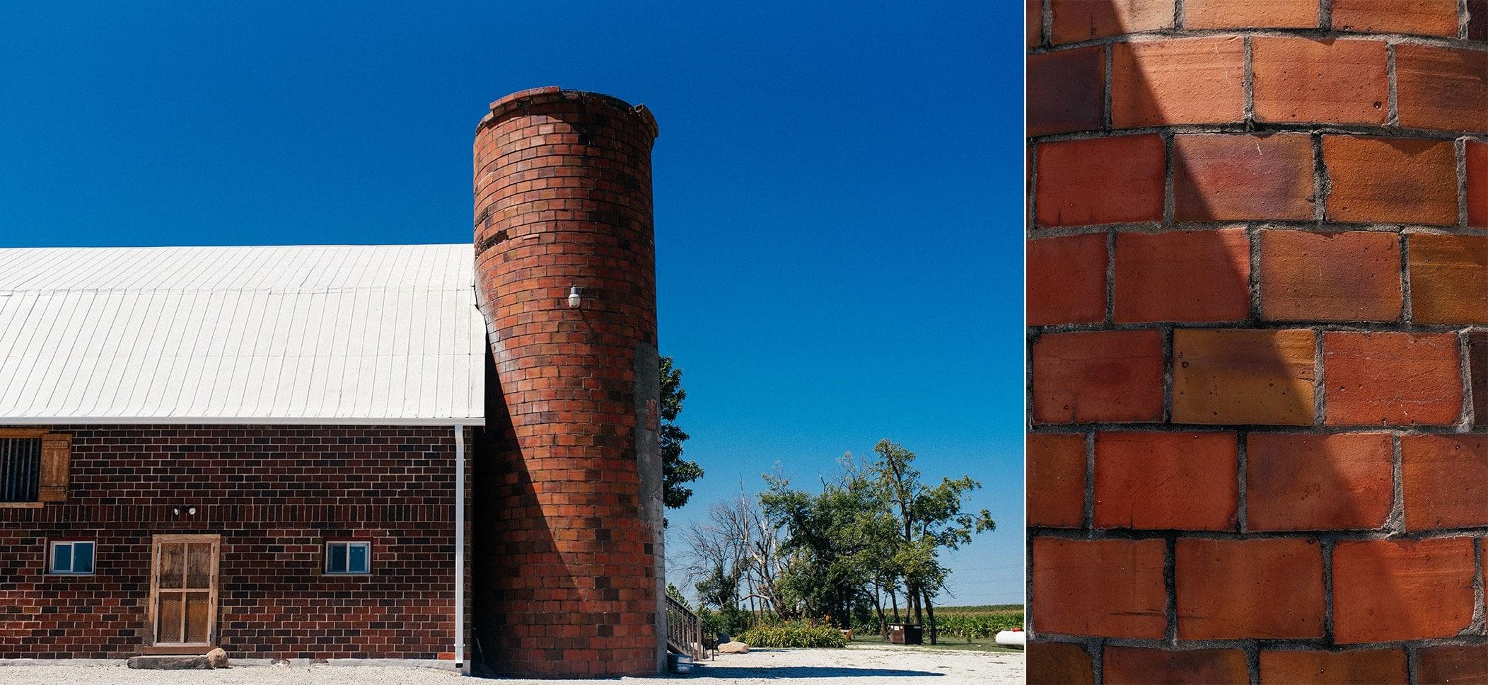 keller brick barn wedding venue