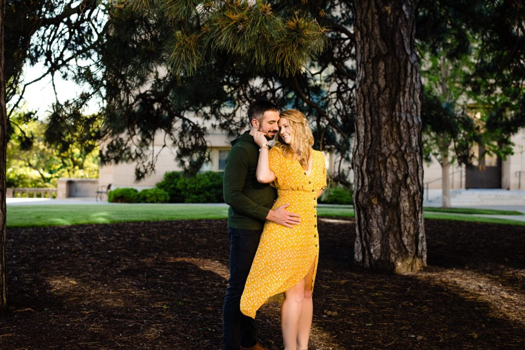 Iowa City engagement photos