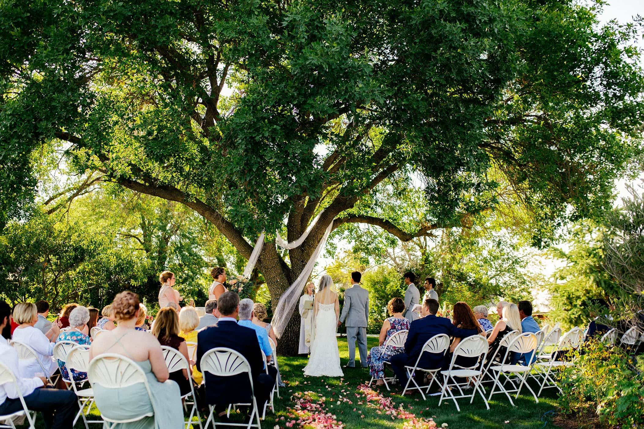 Keller Brick Barn wedding photos