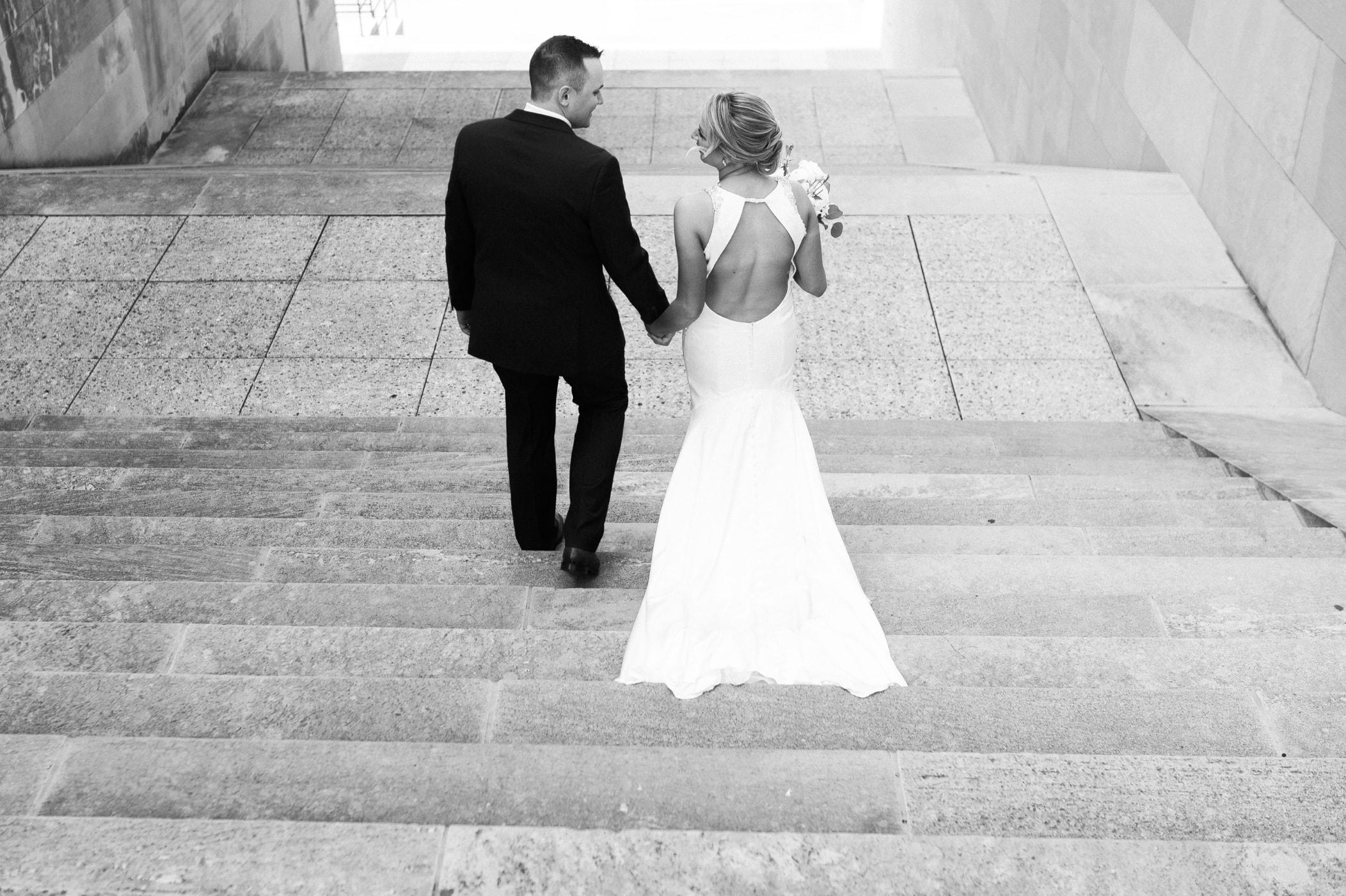 bride and groom photos kansas city