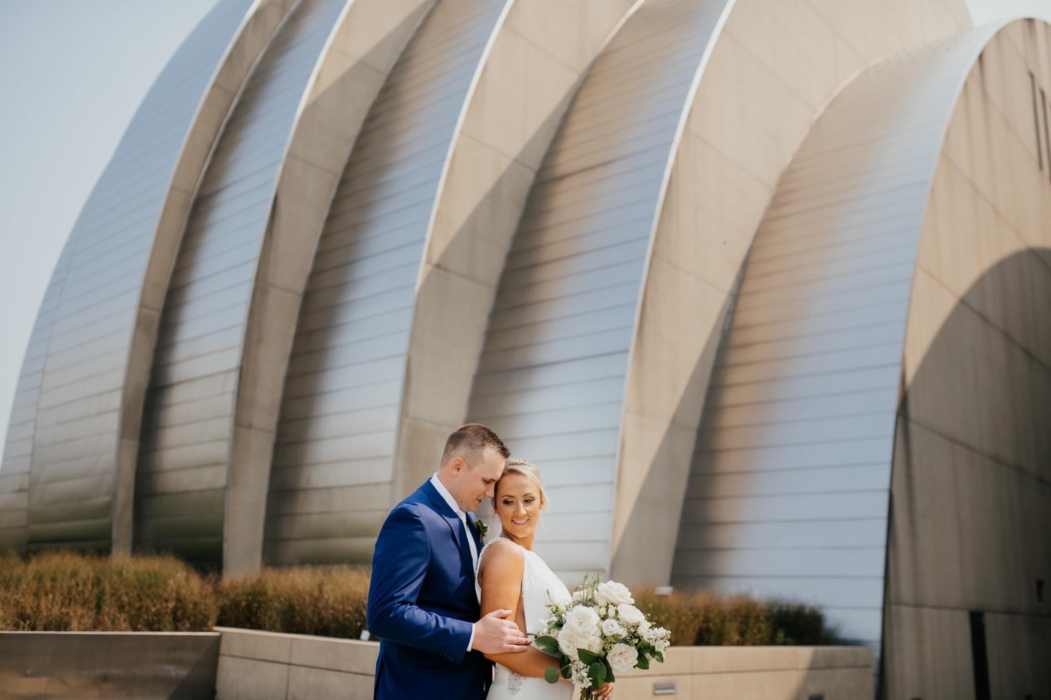 kauffman center kansas city wedding photos