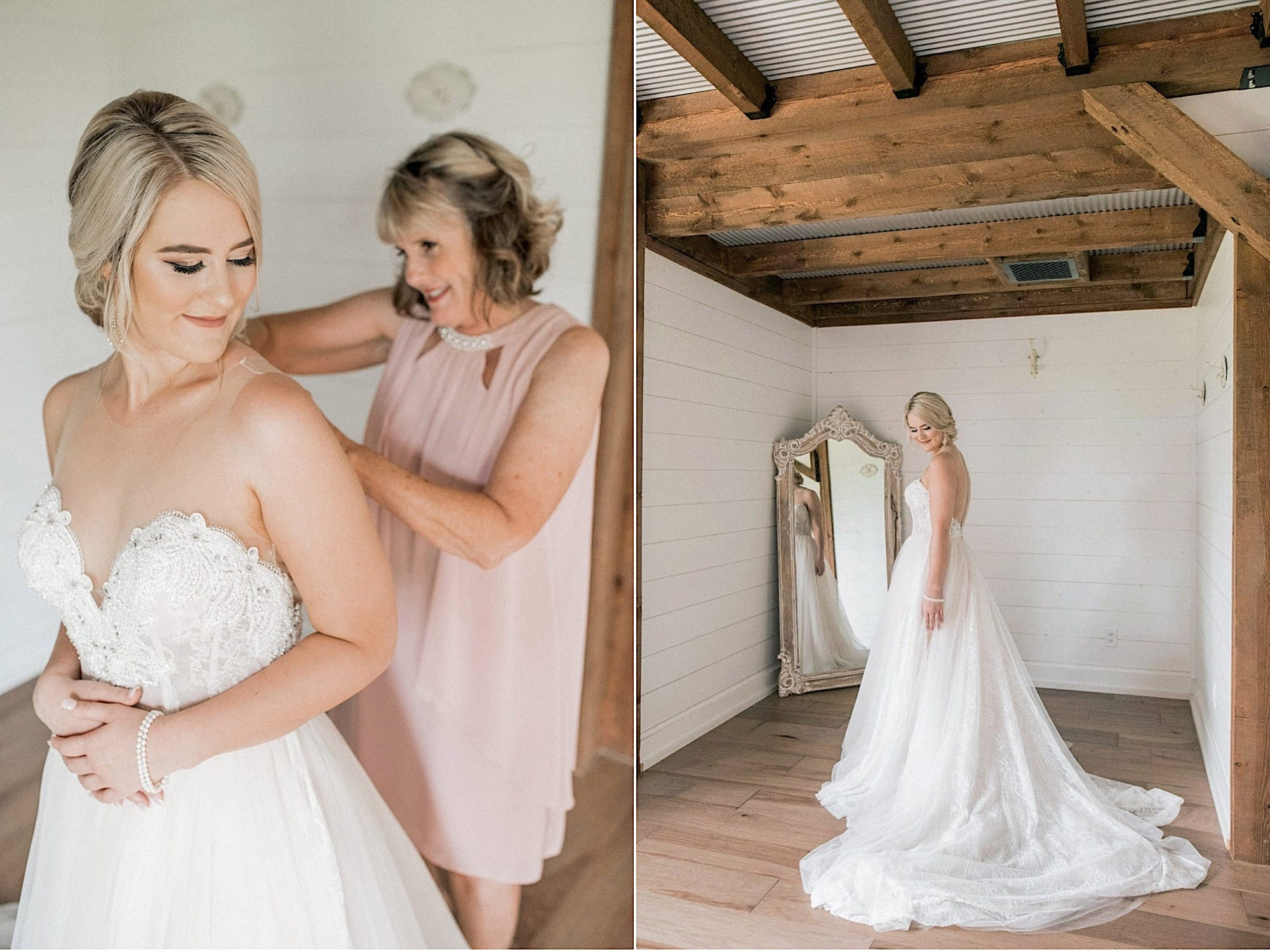clover barn bridal suite
