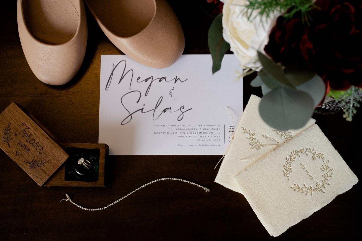 Surety Hotel wedding details