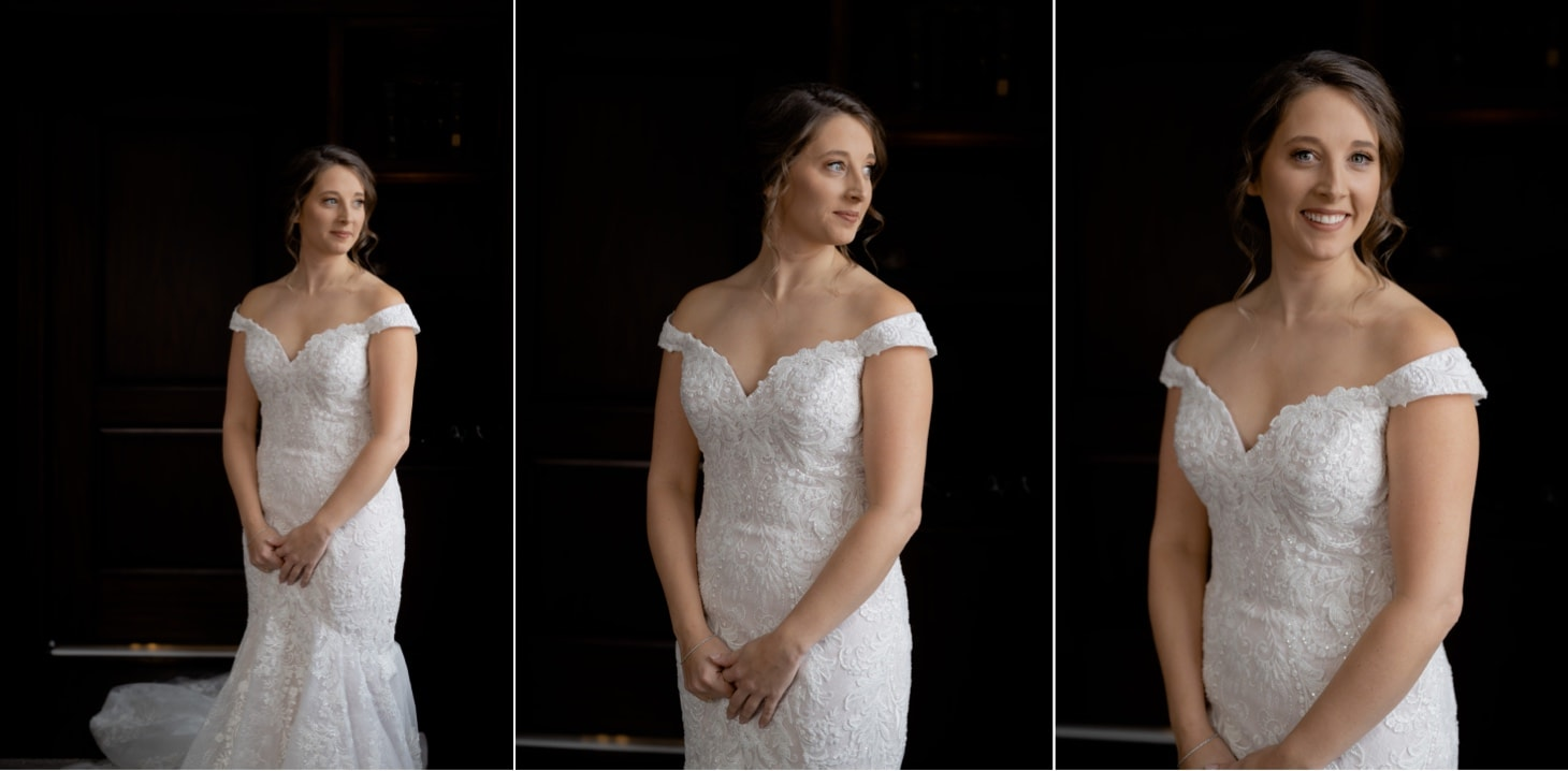 Bridal portraits at Surety Hotel