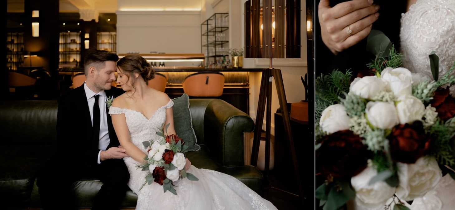 Surety Hotel wedding photos
