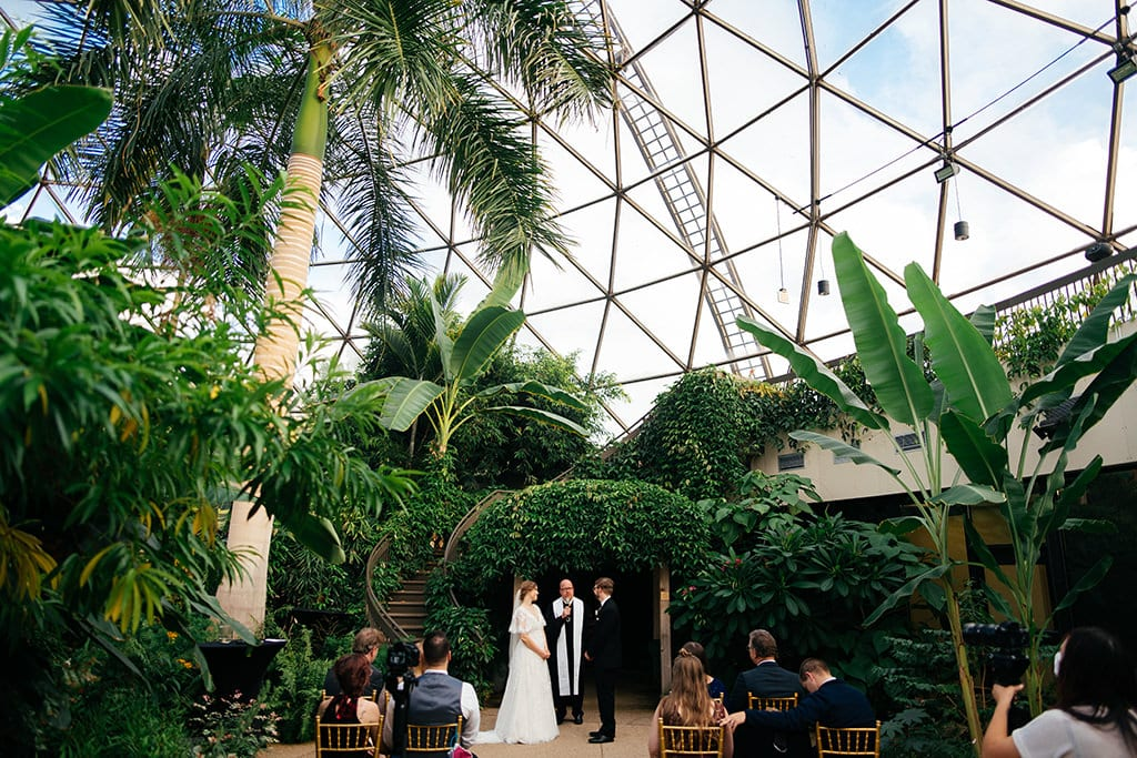 Greater Des Moines Botanical Garden wedding venue