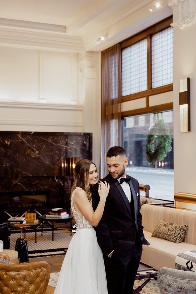 Surety Hotel wedding photos
