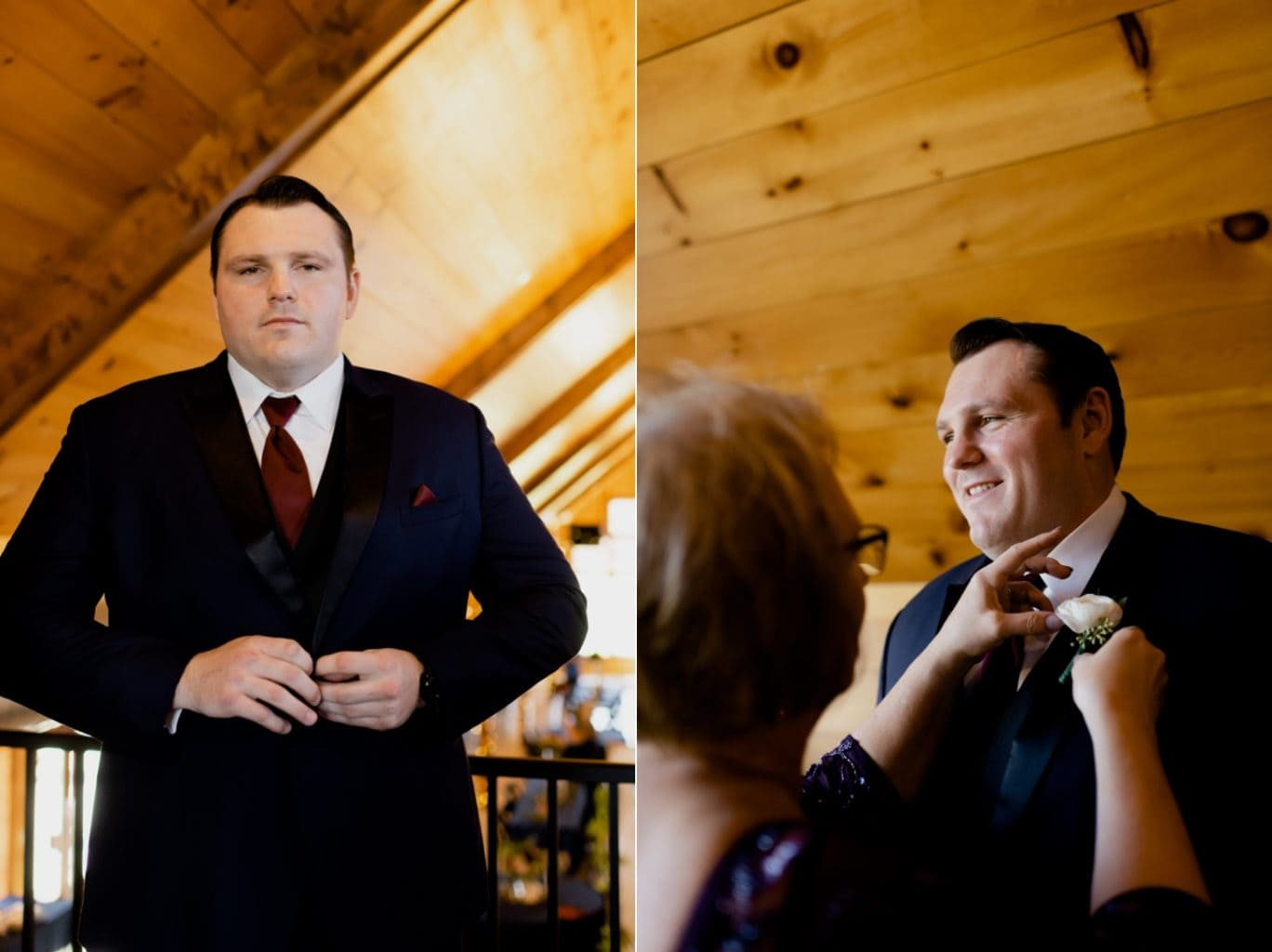 groom portrait at country lane lodge adel iowa