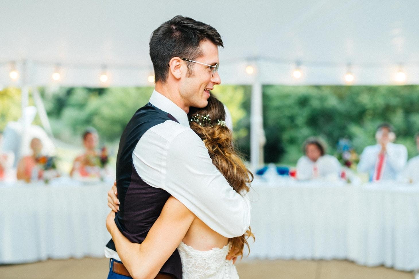 couples first dance iowa city wedding