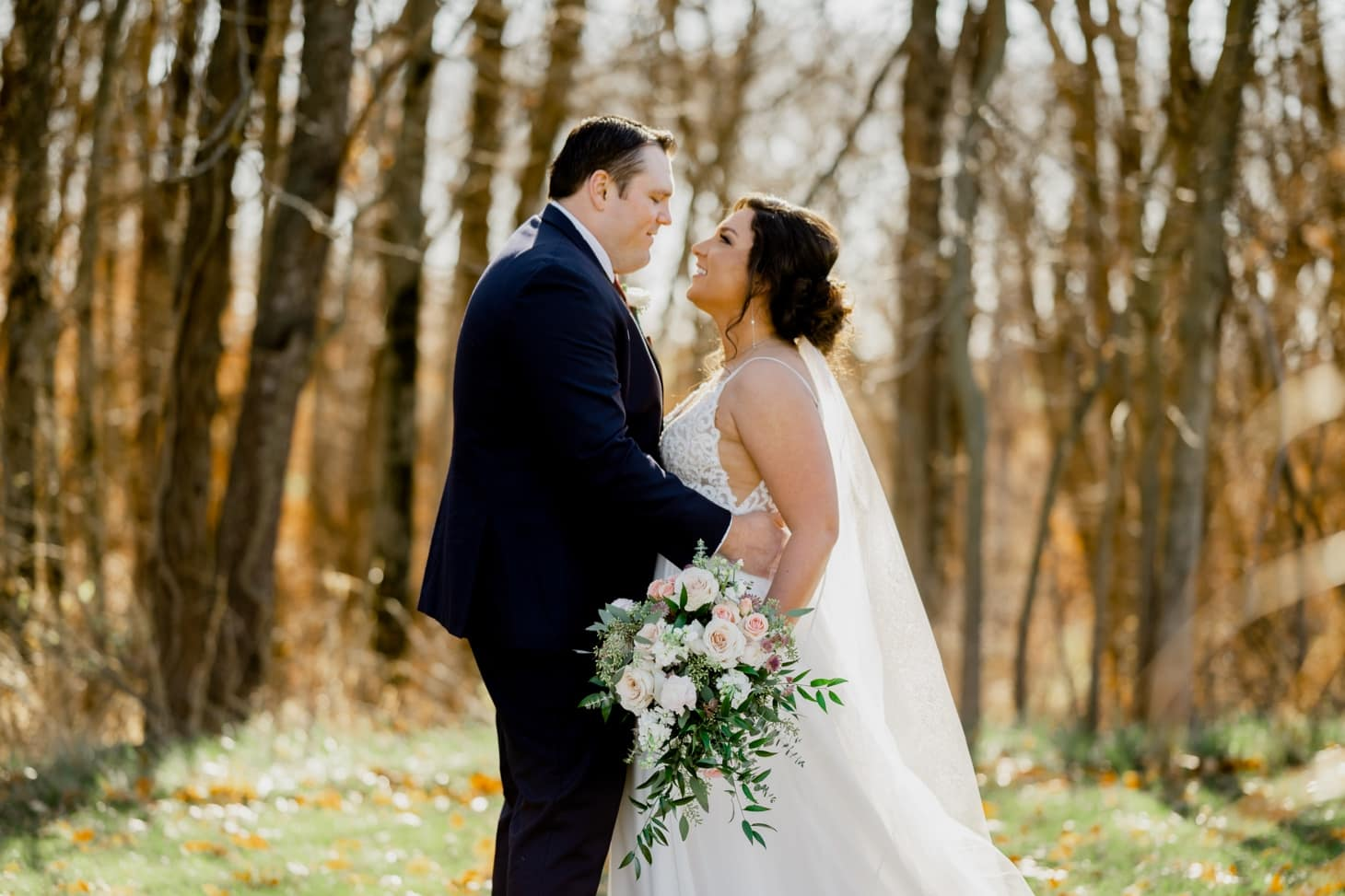 couples portrait at country lane lodge adel iowa