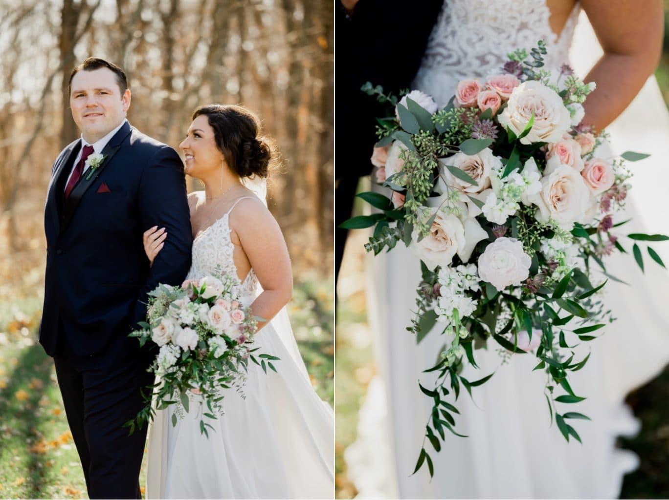bride and groom photos adel iowa