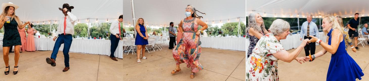 wedding dance at harvest preserve iowa city