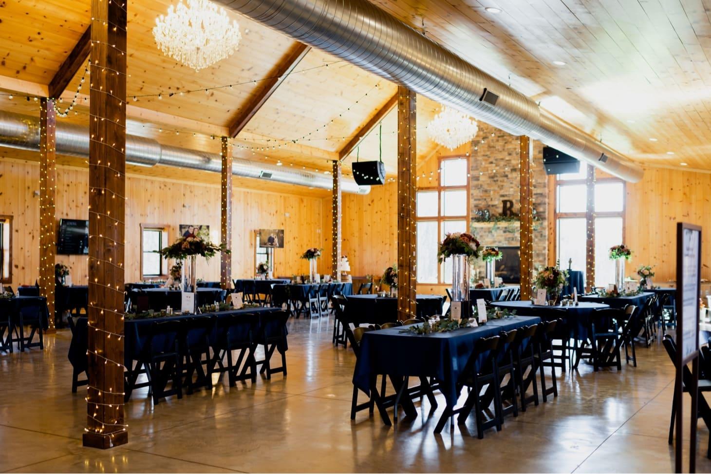 barn wedding at country lane lodge