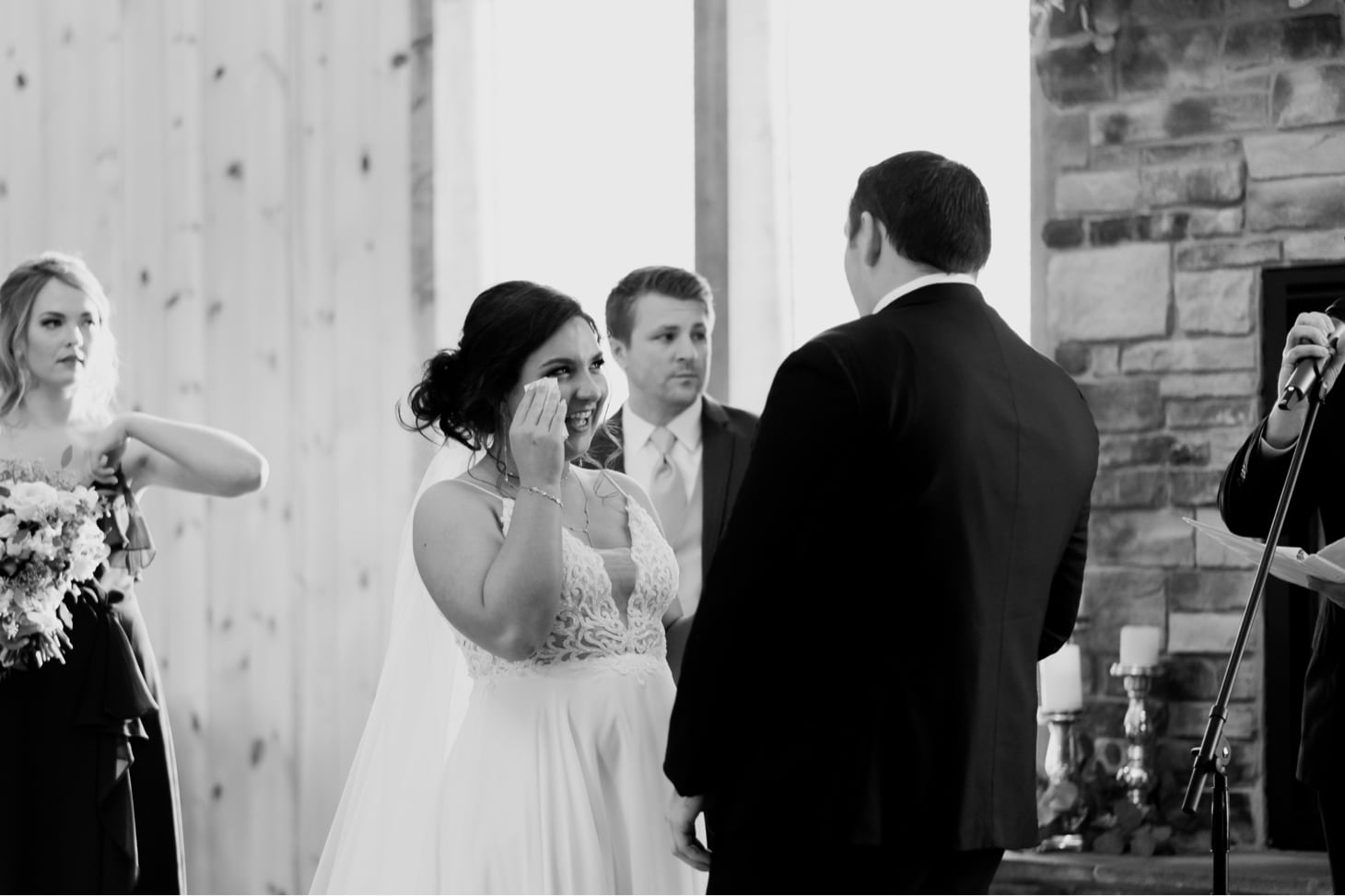 wedding ceremony photos country lane lodge