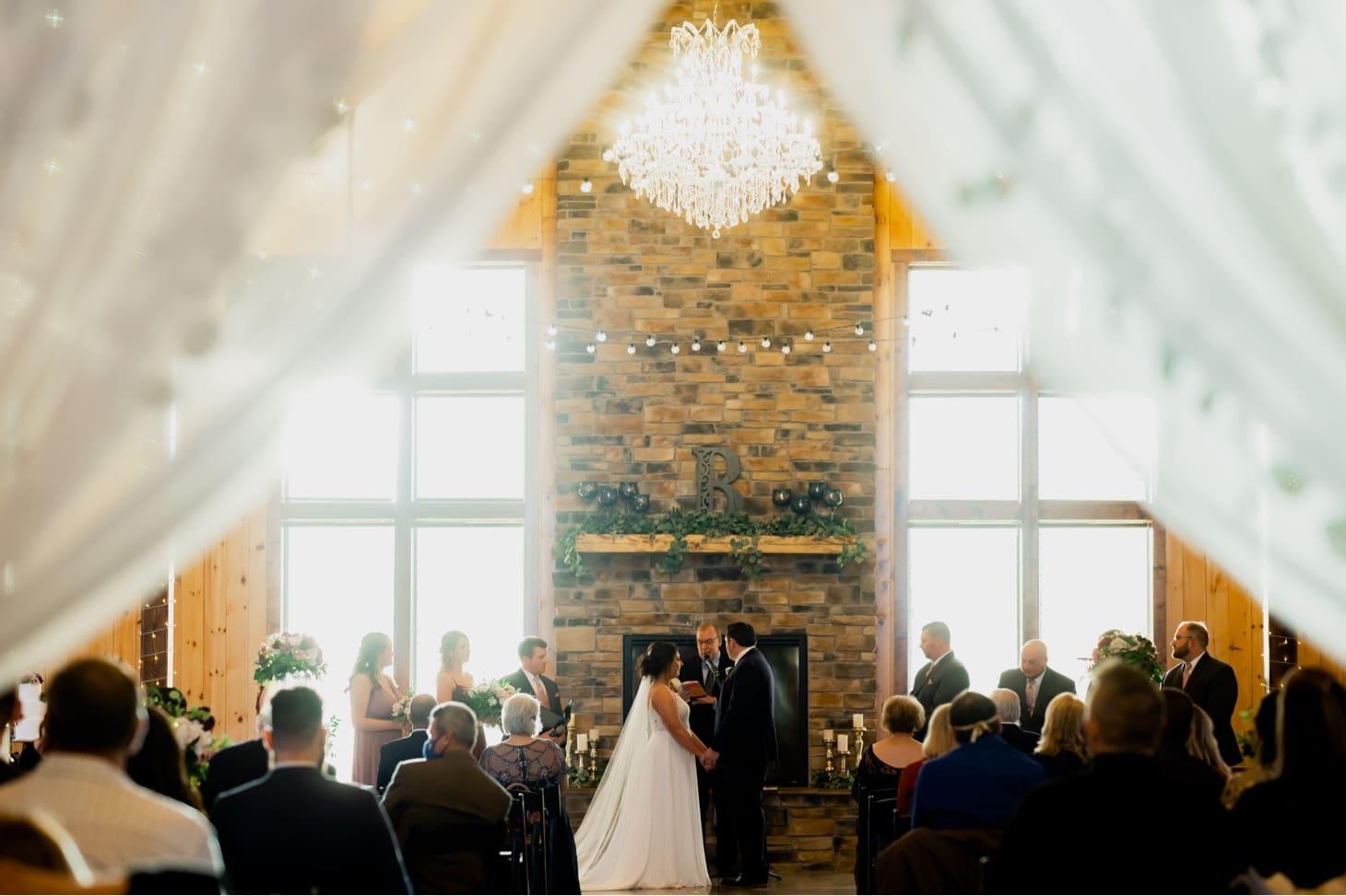 adel iowa wedding ceremony photos