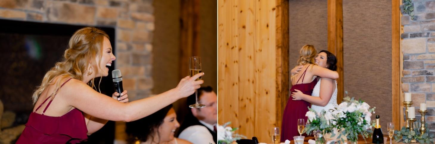 wedding toast photos adel iowa