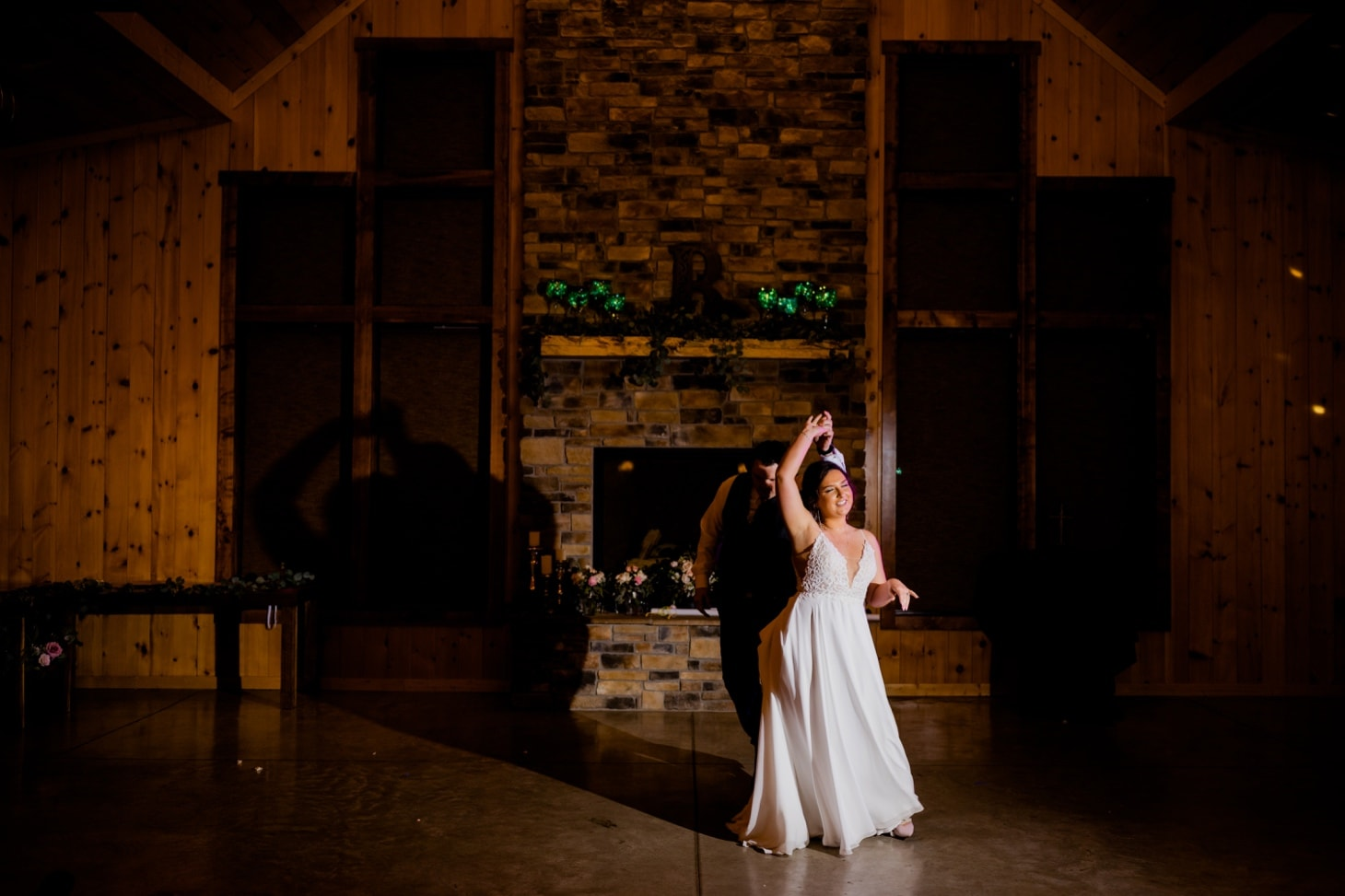 first dance at country lane lodge