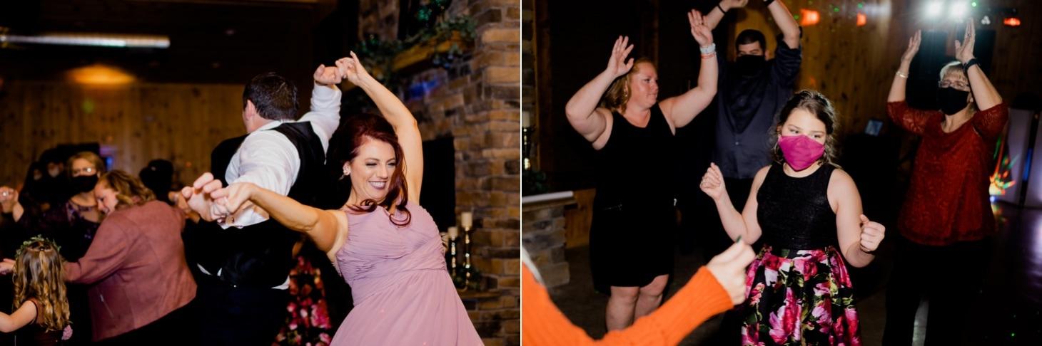 wedding reception dancing photos adel iowa