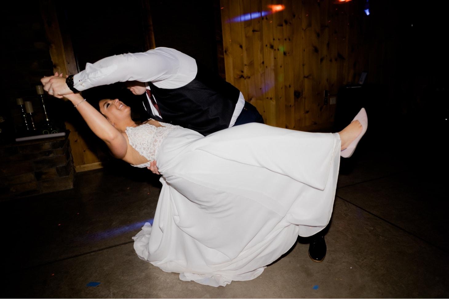country lane lodge wedding dance