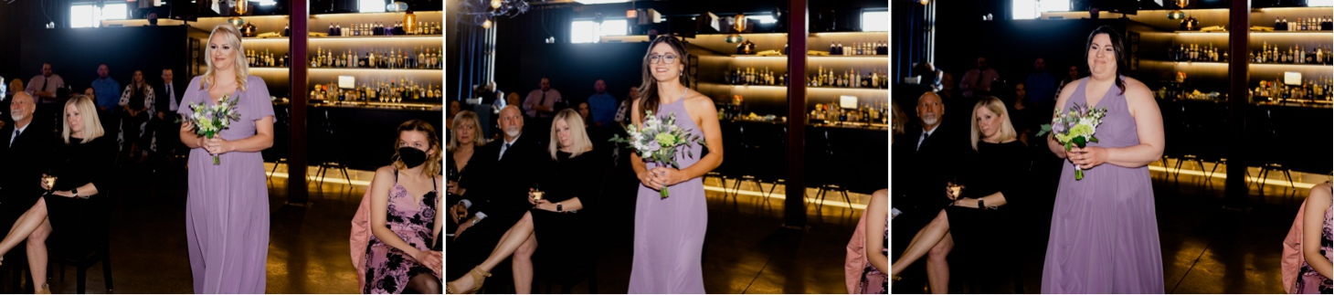 bridesmaids at noce jazz club