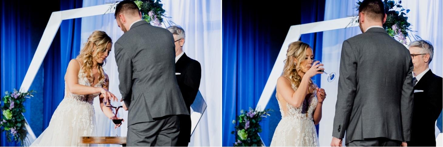 wedding ceremony at noce
