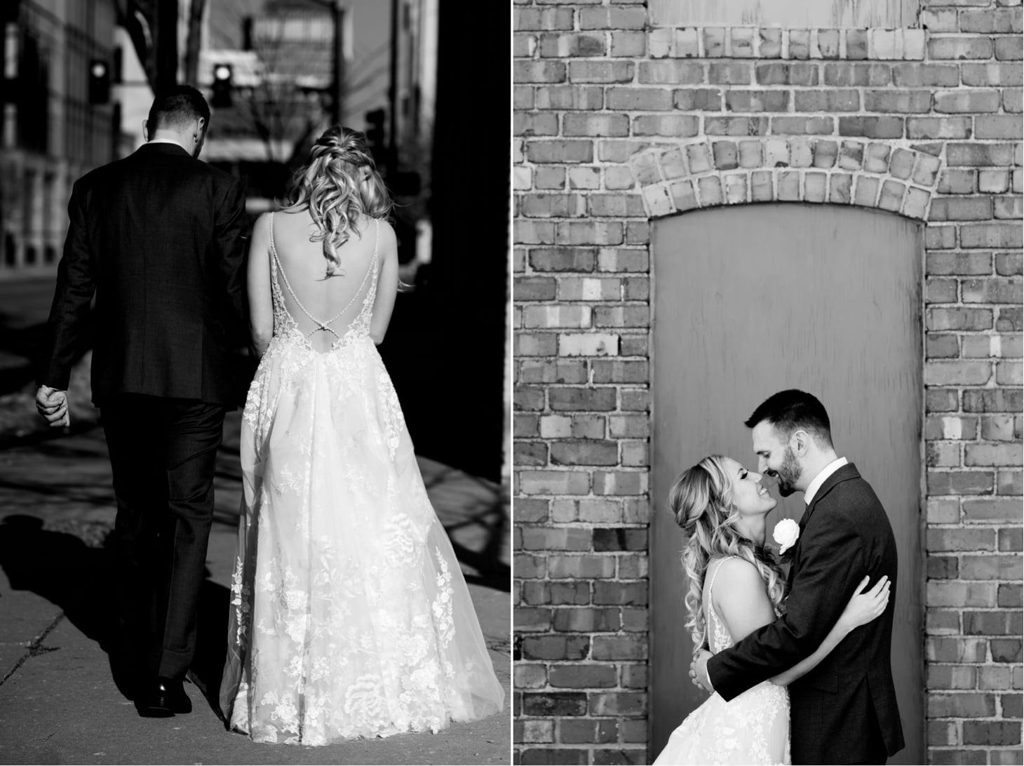 wedding exit downtown des moines