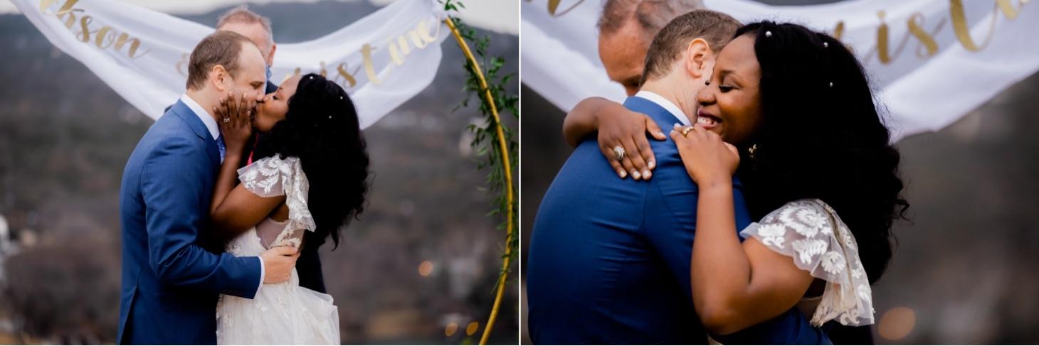 bride and groom austin texas mount bonnell wedding