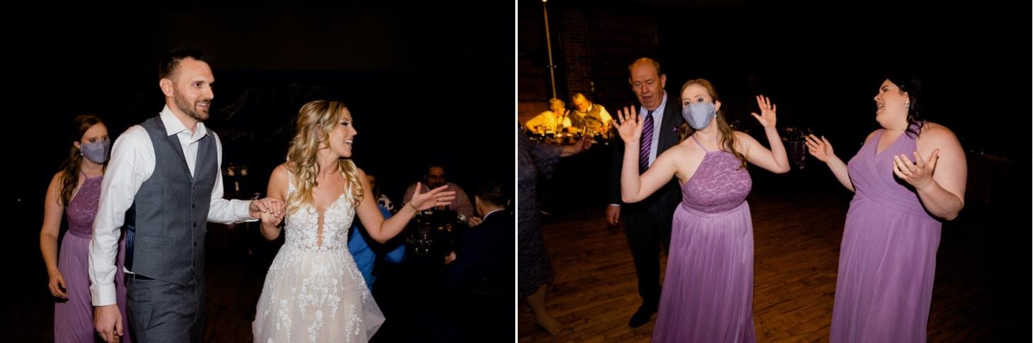 wedding reception at Noce Jazz Club