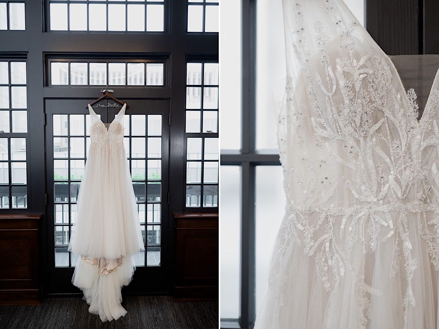 Wedding Dress at Des Moines Tea Room