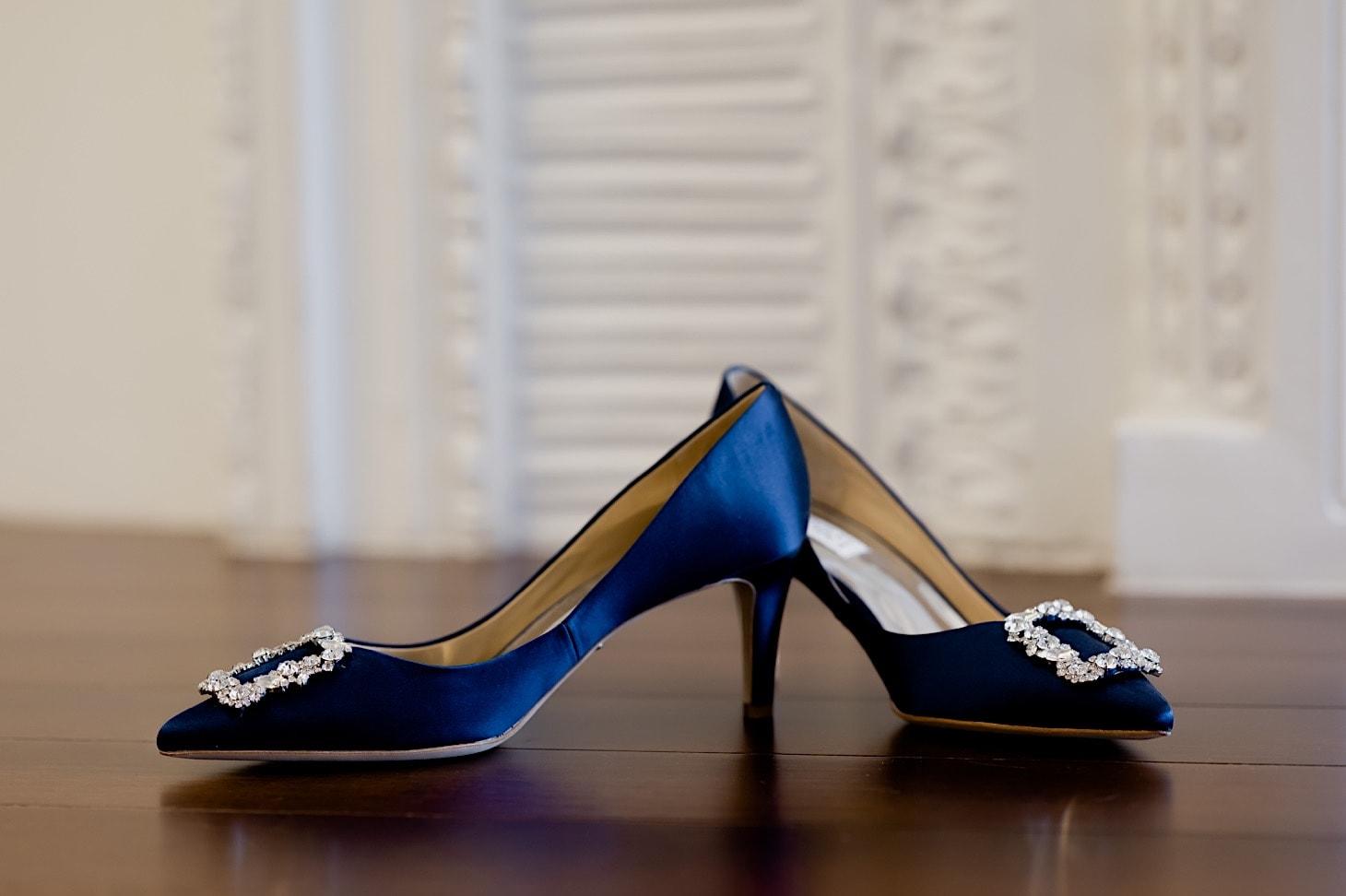Bridal Shoes at Des Moines Tea Room