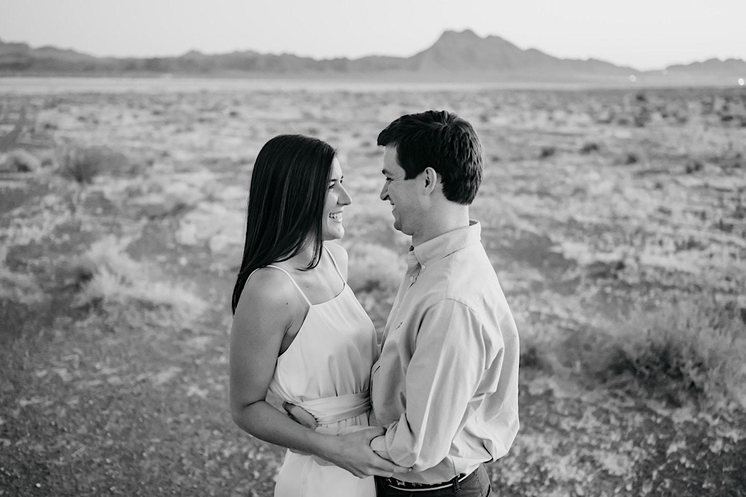 engagement photos desert las vegas