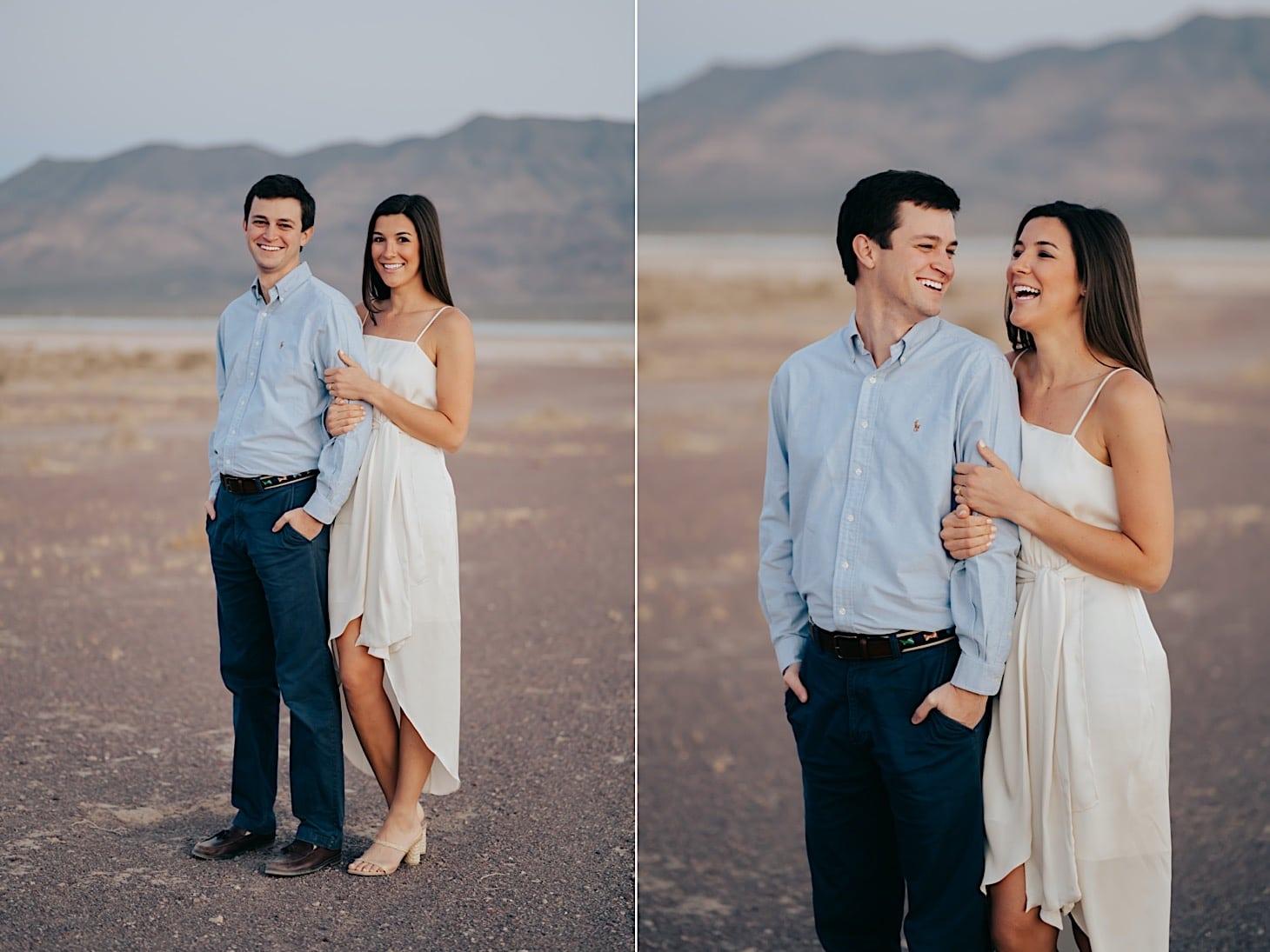 desert couple photos