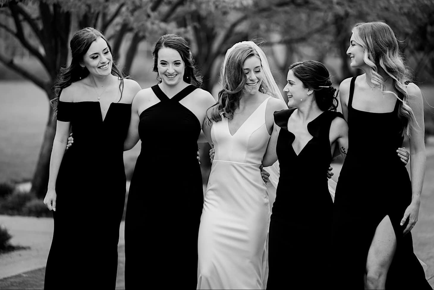 Bridal party River Center wedding Des Moines