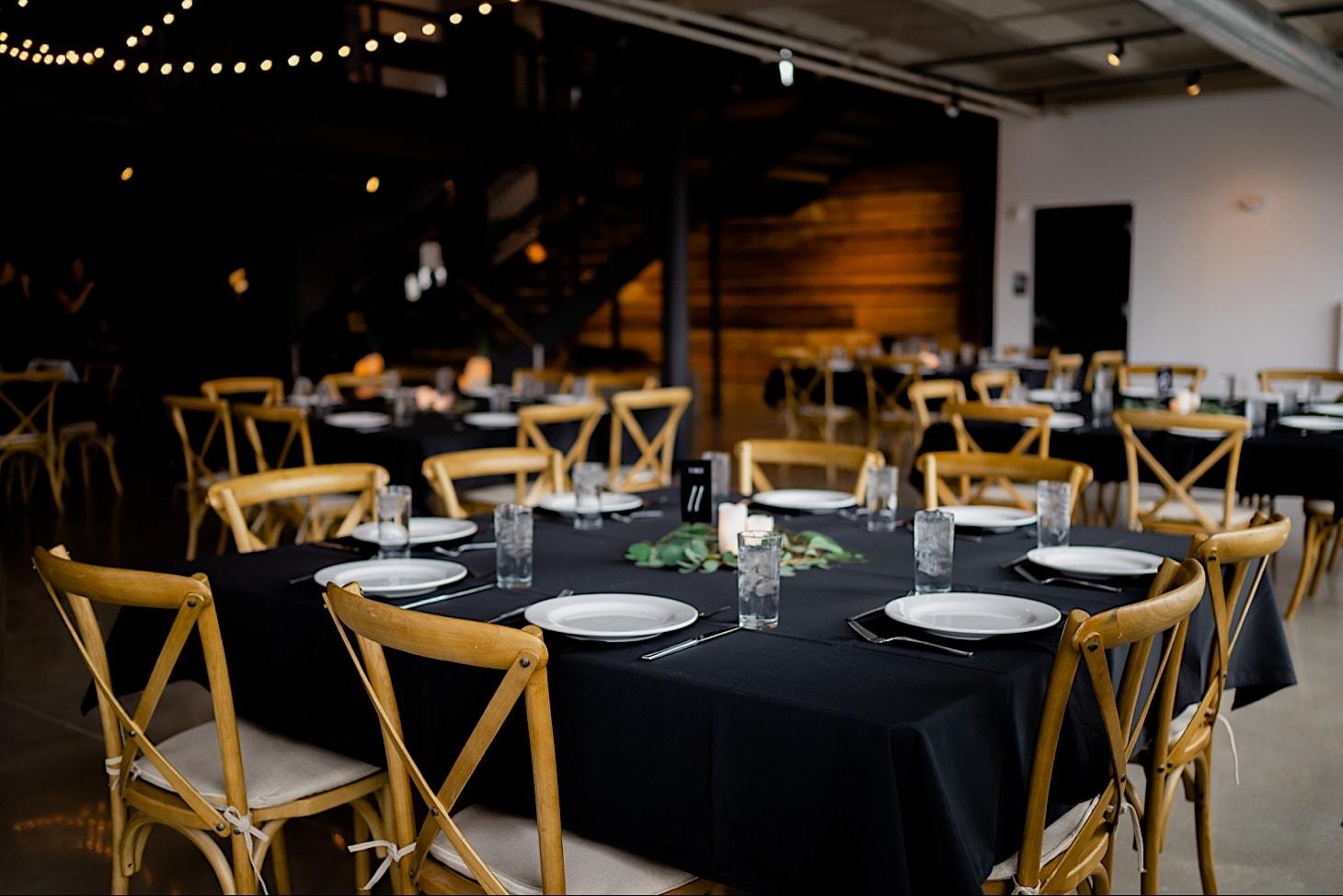 reception decor River Center Des Moines