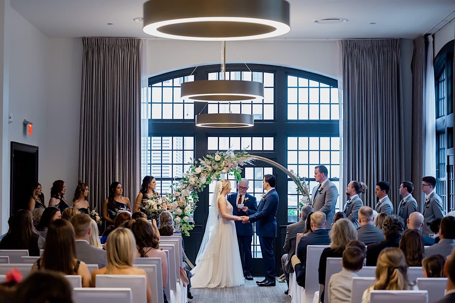 wedding vows at the tea room des moines