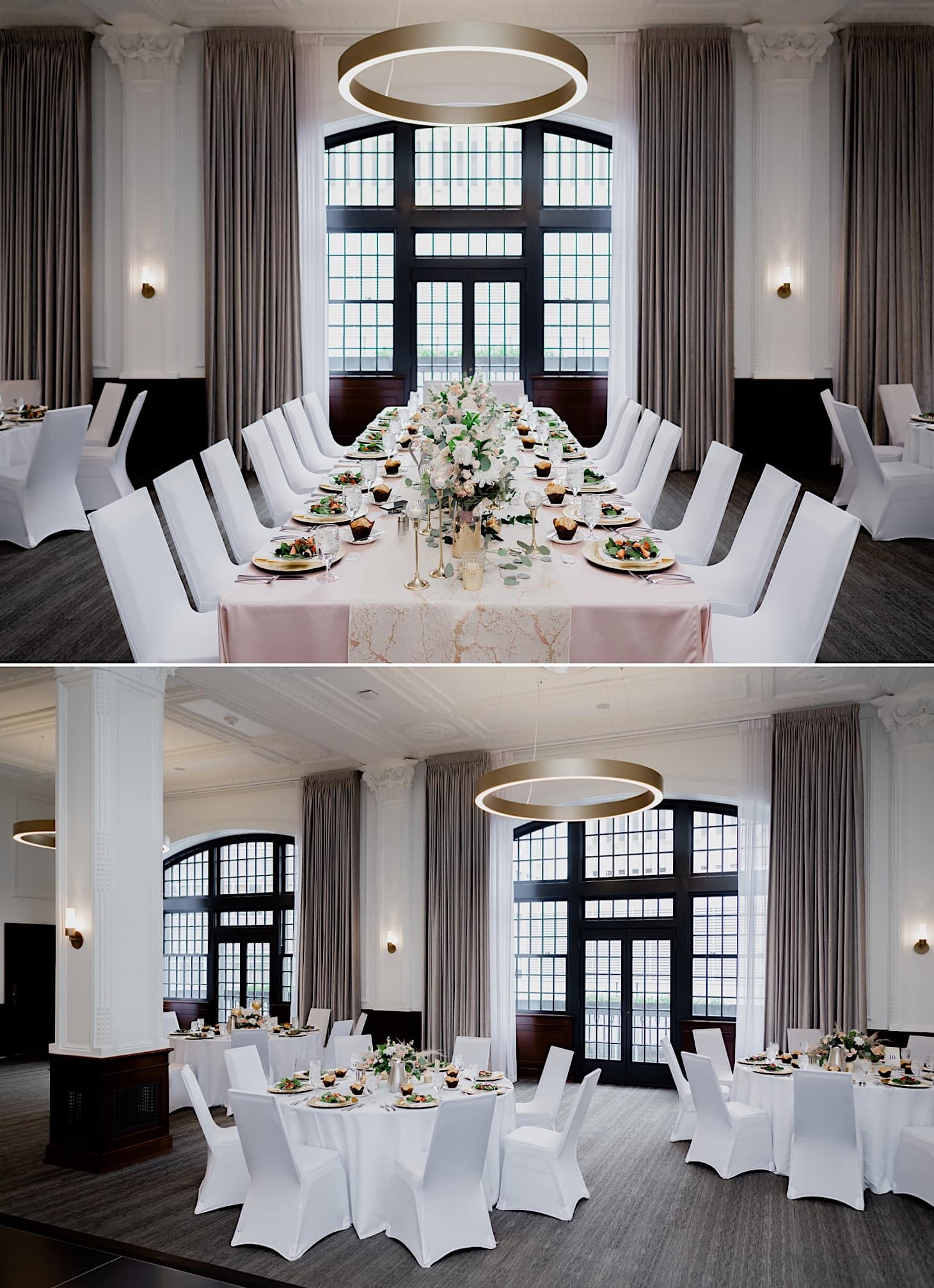 tea room wedding reception photos