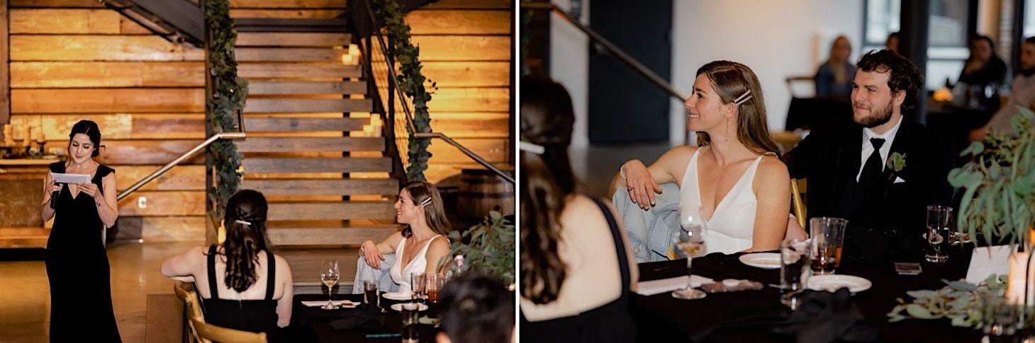 wedding toasts at Des Moines wedding