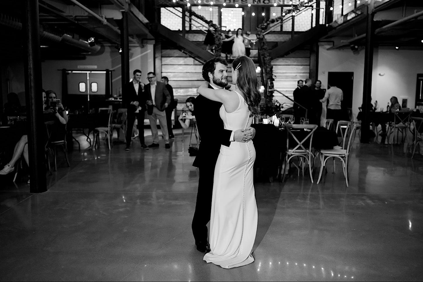 first dance at River Center Des Moines
