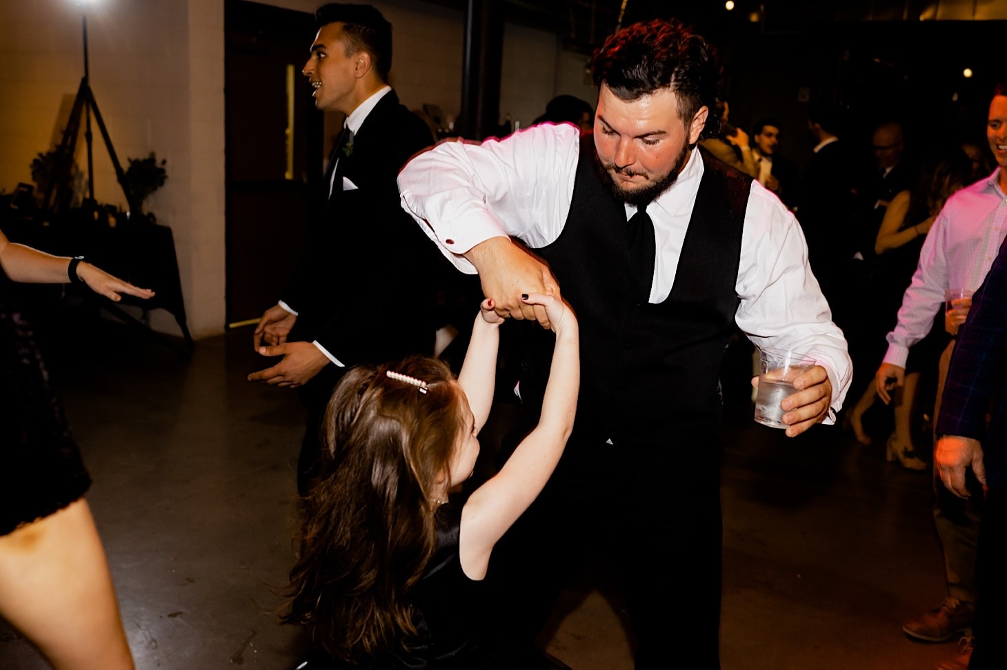 wedding dance at downtown Des Moines wedding