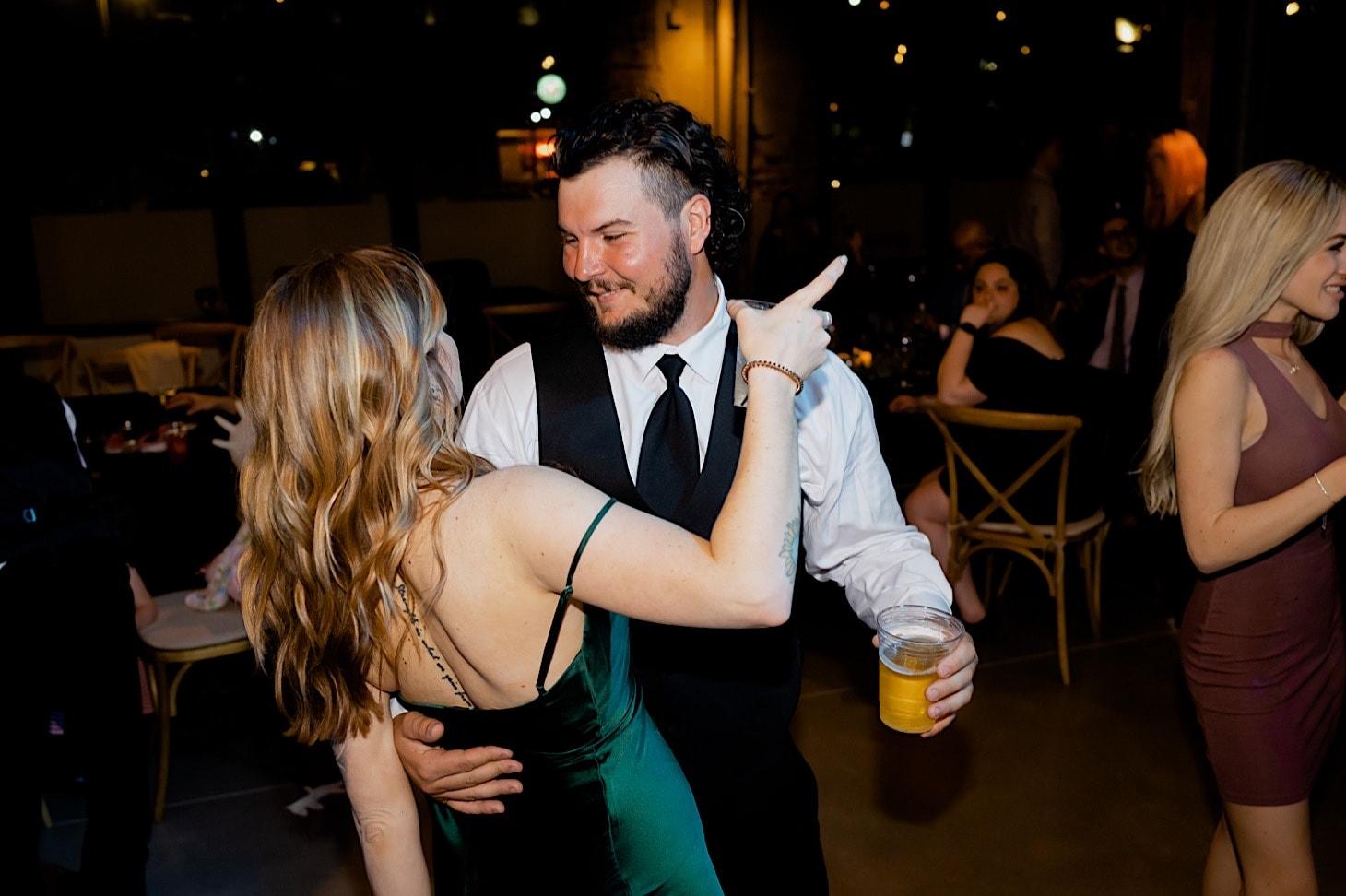 dancing photos Des Moines wedding reception