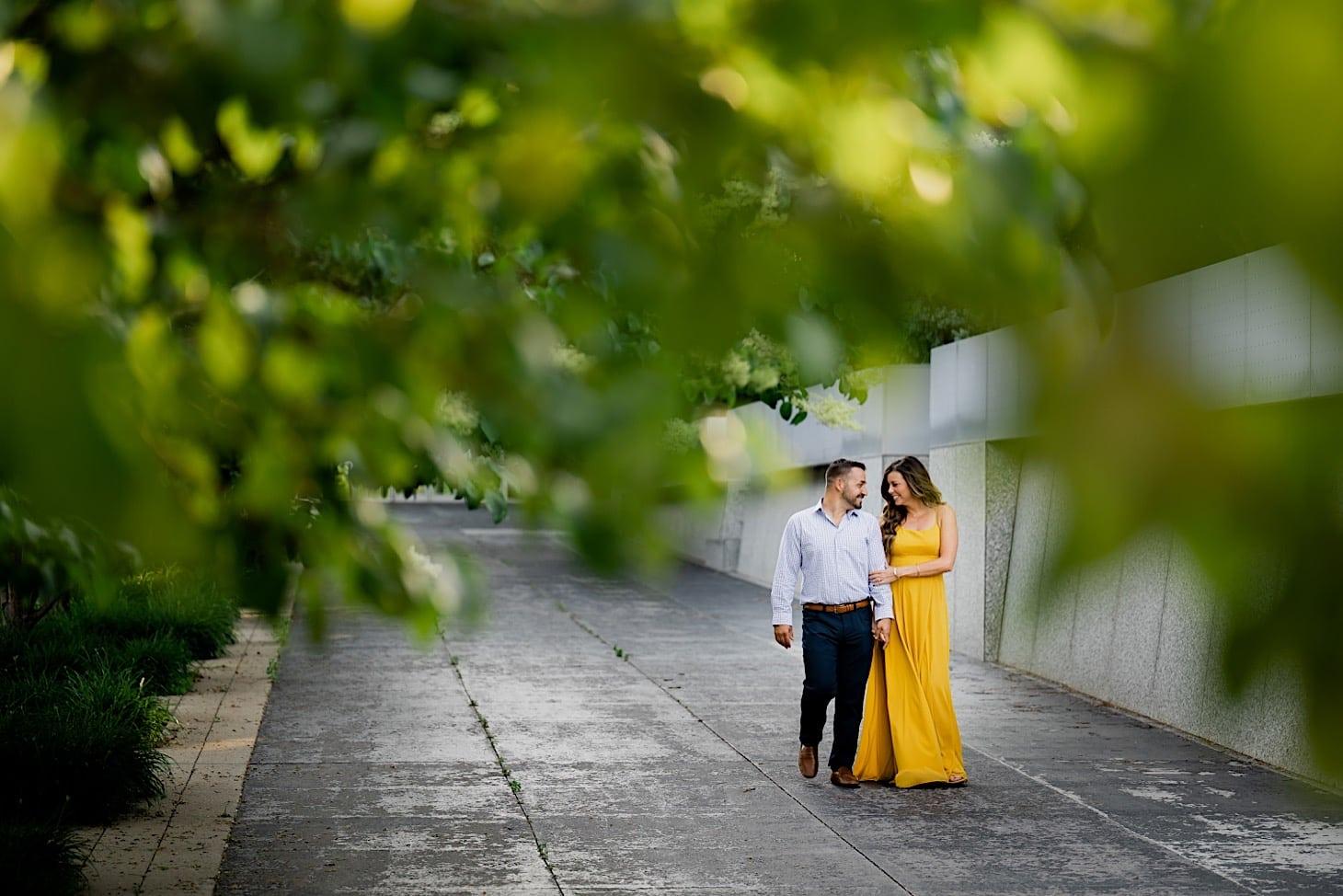 Engagement photos Des Moines