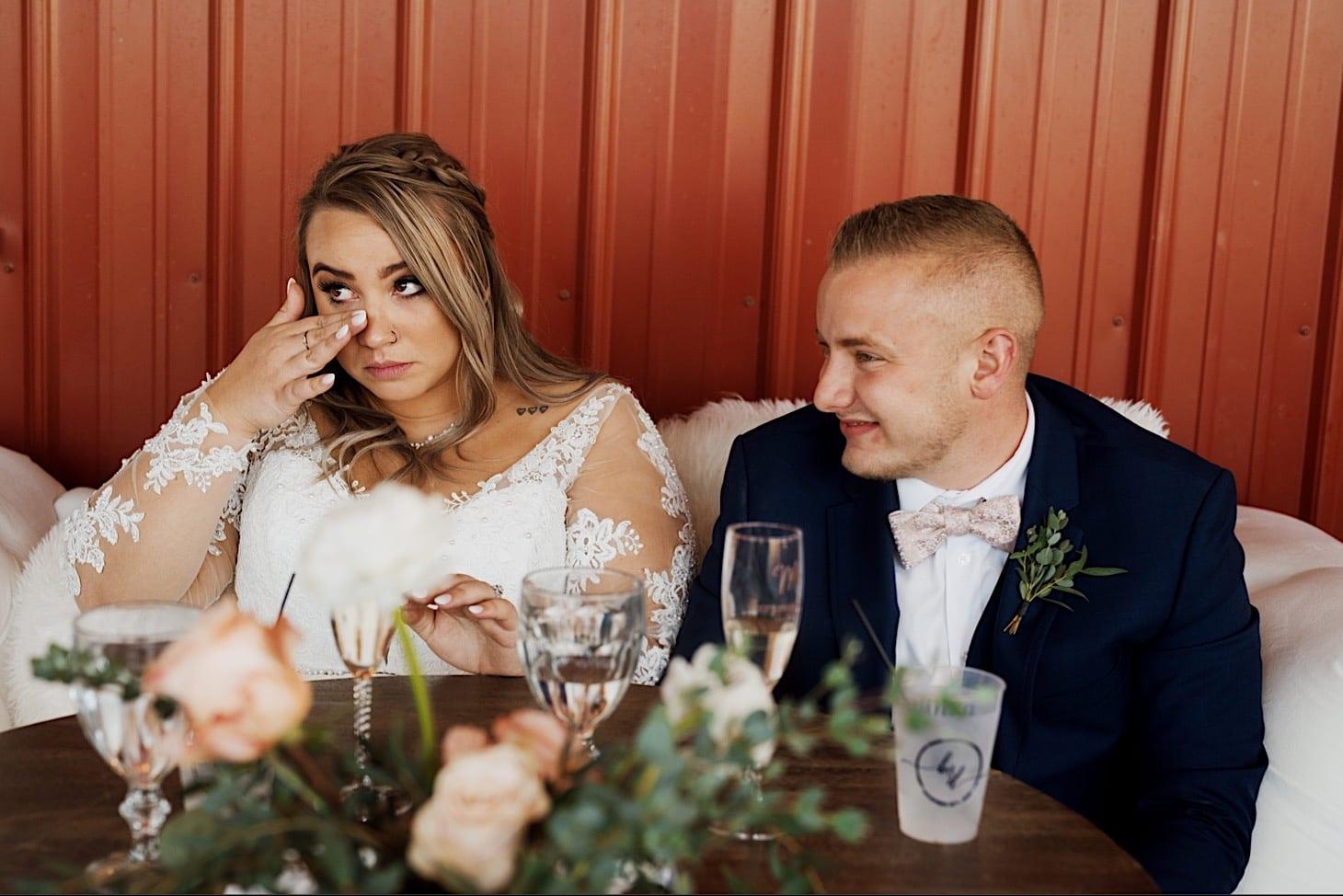 wedding toast photos des moines photography