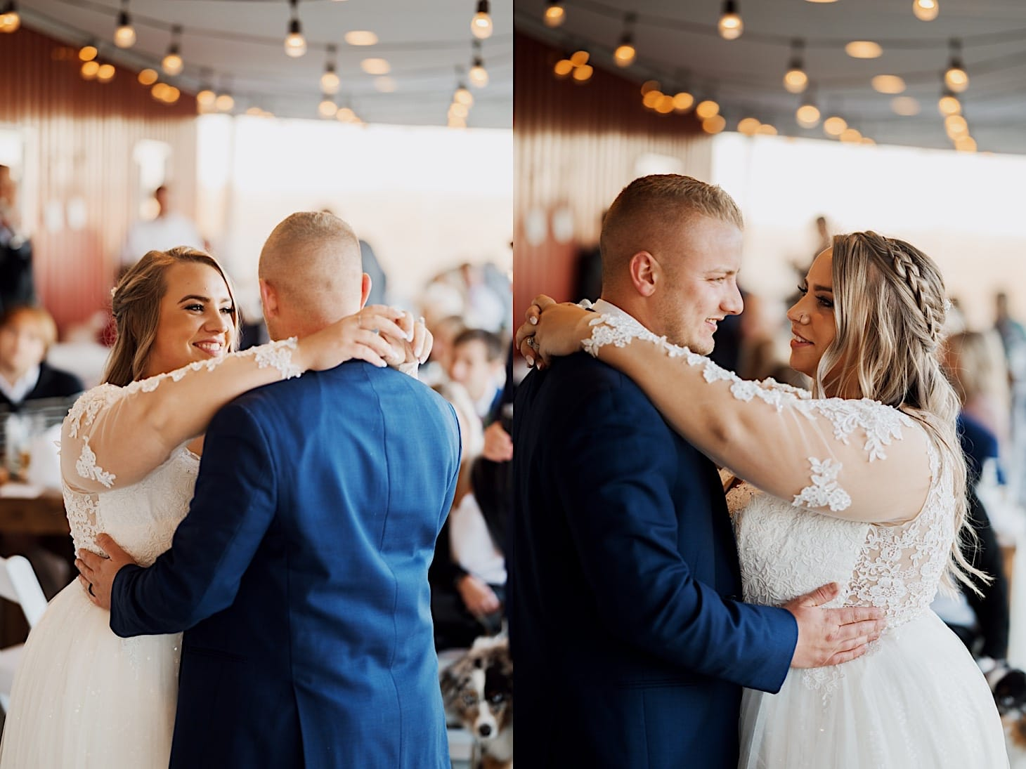 first dance at red acre barn des moines