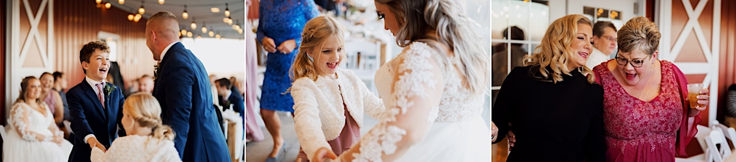reception moments at red acre barn