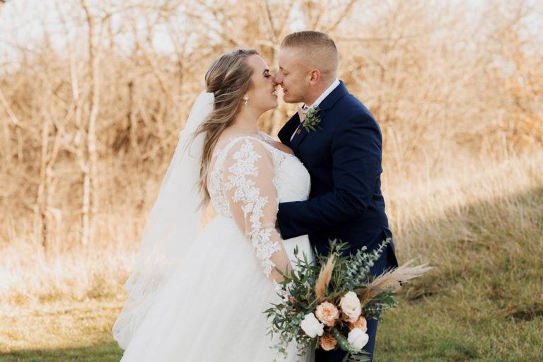 Red acre barn wedding | Danielle + Broderick